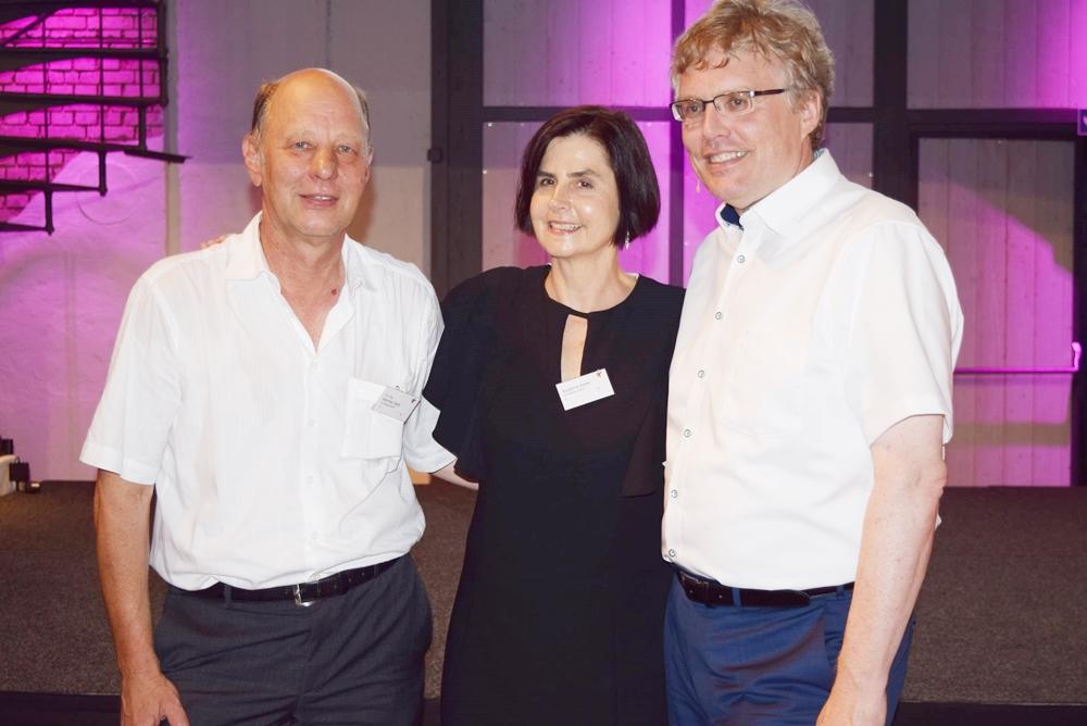 Der Vetrauenspreis der LüKK 2017 wurde moderiert von Prof. Michael Arnemann, Susanne Keller und Dr. Manfred Stahl.
