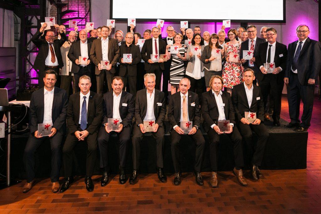 Die Sieger beim Vetrauenspreis der LüKK 2017