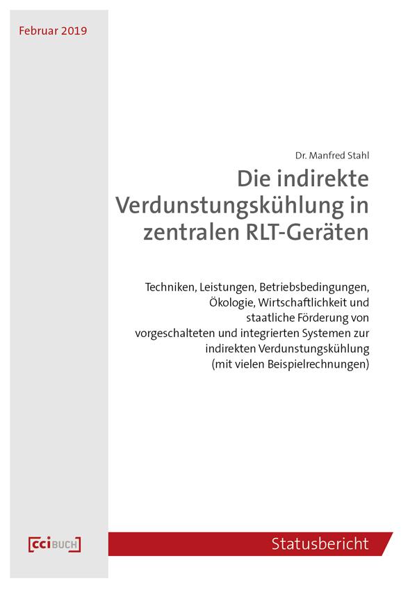 Die indirekte Verdunstungskühlung in zentralen RLT-Geräten (E-Book)