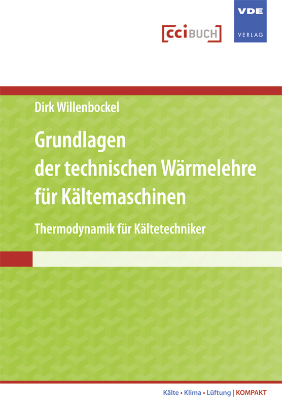 Das Buch beschreibt die Thermodynamik (technische Wärmelehre) im Hinblick auf ihre praktische Anwendung in Kältemaschinen und Wärmepumpen