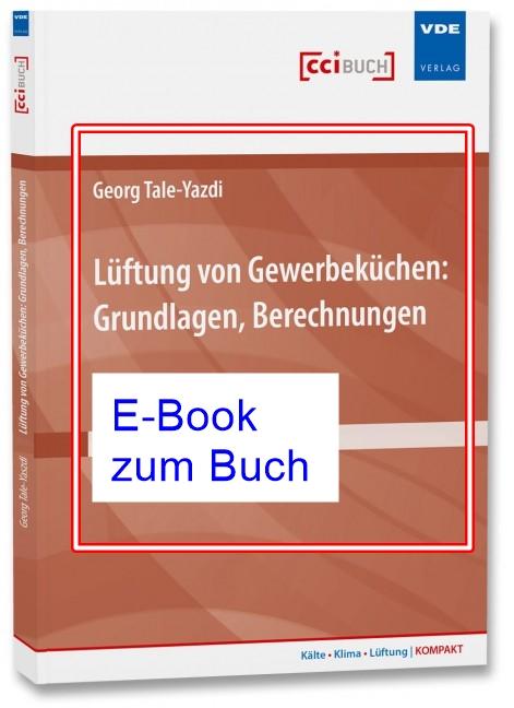 Lüftung von Gewerbeküchen Grundlagen E-Book zum Buch