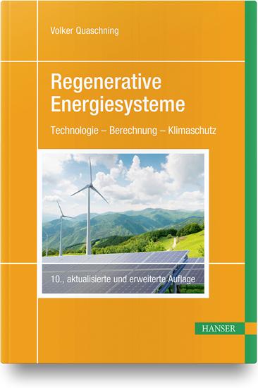 Regenerative Energiesysteme behandelt die volle Bandbreite der regenerativen Energiesysteme – von Solarthermie und Photovoltaik über Wind- und Wasserkraft bis hin zu Geothermie und Nutzung der Biomasse.