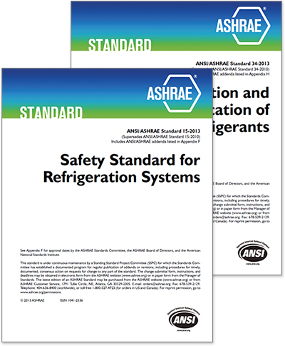 ASHRAE Standard 34 is intended to establish a simple means of referring to common refrigerants instead of using the chemical name, formula, or trade name.