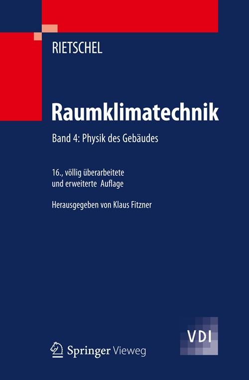 Das Fachbuch bearbeitet das Zusammenwirken von Raumlufttechnik, Energietechnik und Gebäude, und die Bauphysik, das thermische und hygrische Gebäudeverhalten.