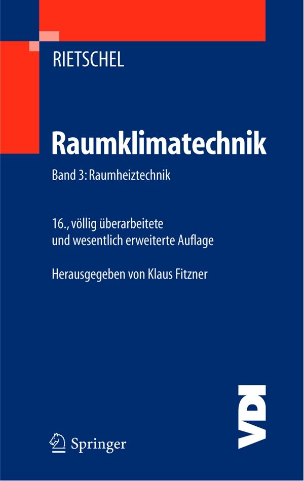 Klaus Fitzner behandelt die Aufgaben der Raumheiztechnik, gibt eine Übersicht über Heizsysteme und deren Aufbau und Kriterien zu ihrem Einsatz.