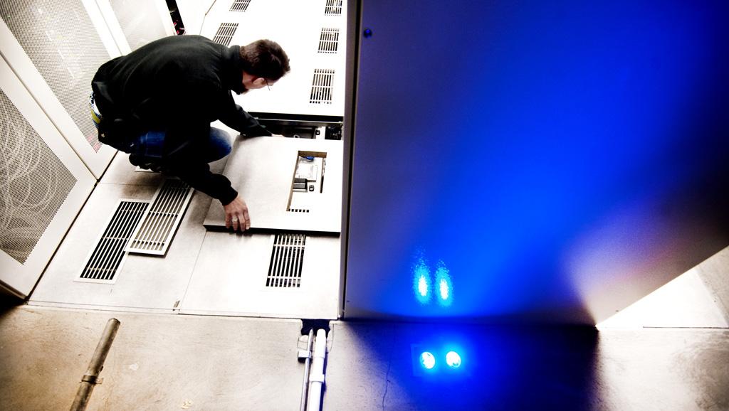 Der schwedische Rechenzentrumsbetreiber Bahnhof verwandelte einen Stockholmer Bunker in ein Rechenzentrum (Abb. Bahnhof)