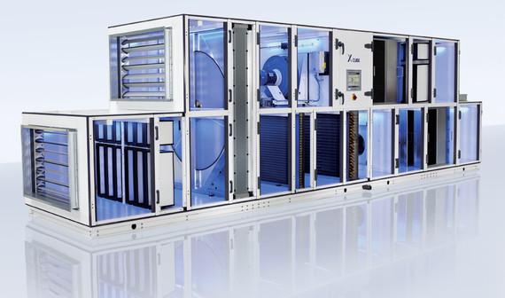 Das Förderprogramm zur Um- und Aufrüstung von RLT-Anlagen soll bald in Kraft treten (Abb. © Trox)