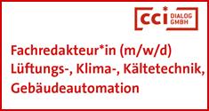 cci Zeitung Stellenmarkt cci Dialog GmbH