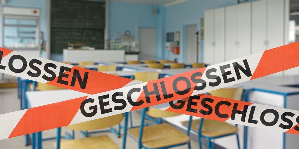 Diese Schule ist geschlossen wegen Corona