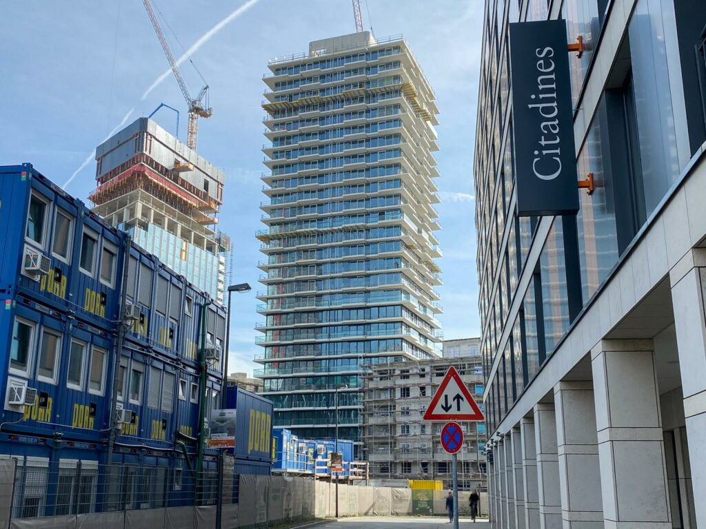 Eden Tower in Frankfurt