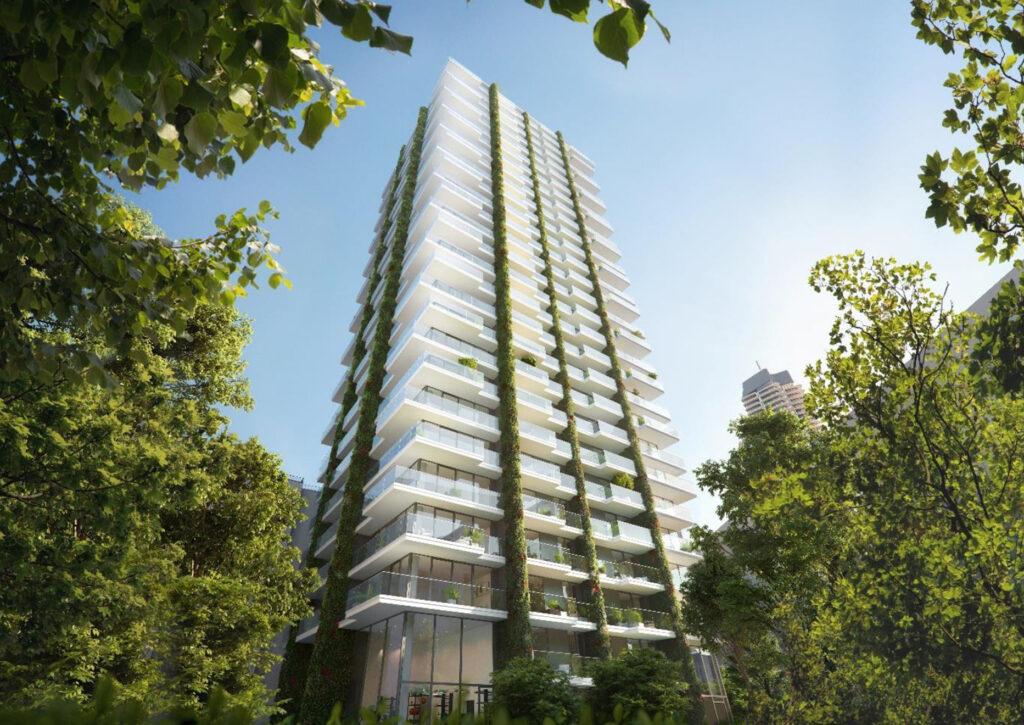 Grünes Projekt Eden Tower