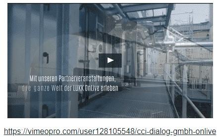 Link zum Video powerde by cci Dialog GmbH OnLive
