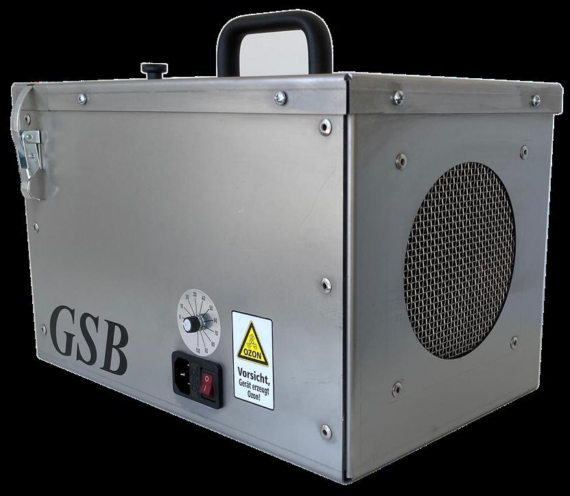 """Die Serie der Raumluftreiniger """"GL-160"""" kommt ohne HEPA-Filter aus und reinigt die Luft mit negativ geladenen Ionen (Abb. © GSB)"""