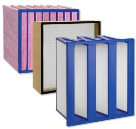 Luftfilter, Luftfilter Bauformen, RLT-Geräte