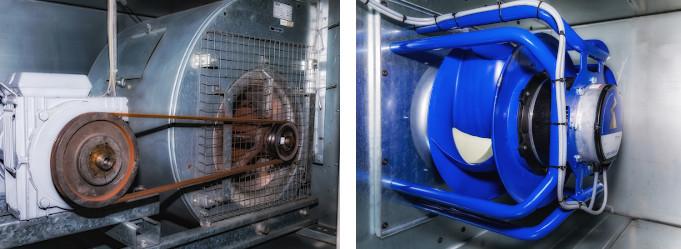 Ventilatoren mit Direktantrieb