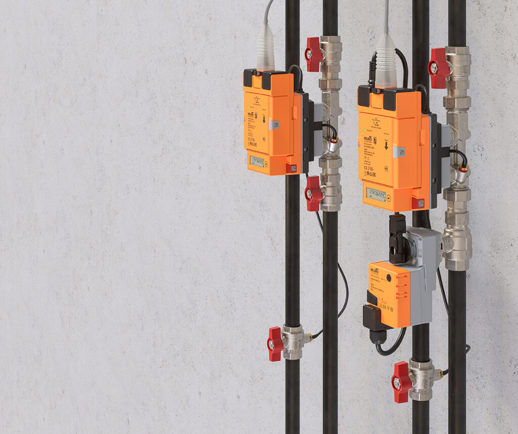 Energy Valve mit thermischem Energiezähler (Abb. © Belimo)
