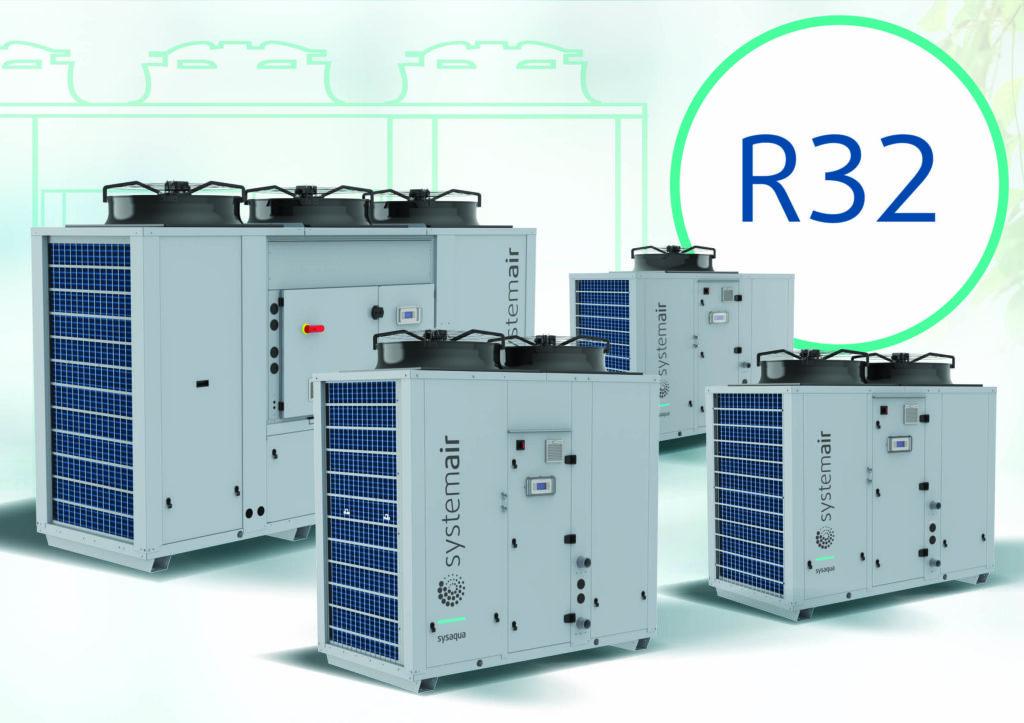 Die neue Baureihe R32 von Systemair zur Klimatisierung von Gebäuden (Abb. © Systemair)