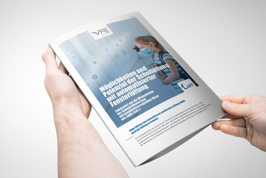 Whitepaper zu Möglichkeiten und Potenzial der Schullüftung mit automatisierter Fensterlüftung (Abb. © Verband Fensterautomation und Entrauchung)
